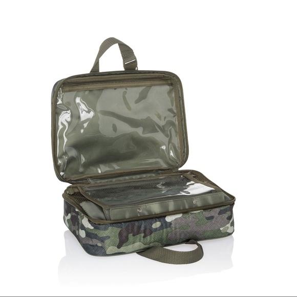 75052bc963 Fold up travel bag Camo Crosshatch